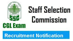SSC CGL 2018 Recruitment notification