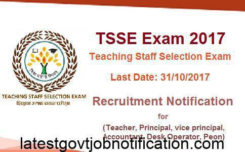 Teaching Staff Selection Exam, TSSE Exam, CTET Exam