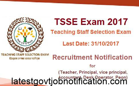 Teaching Staff Selection Exam, TSSE Exam, CTET Exam