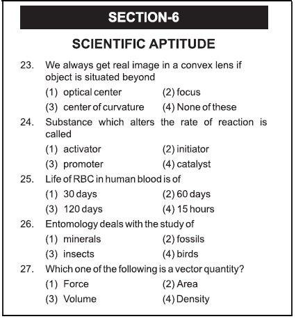 AIMA UGAT Syllabus Section 6