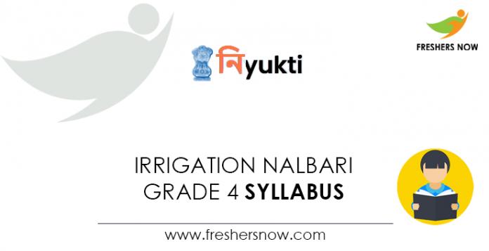 Irrigation-Nalbari-Grade-4-Syllabus