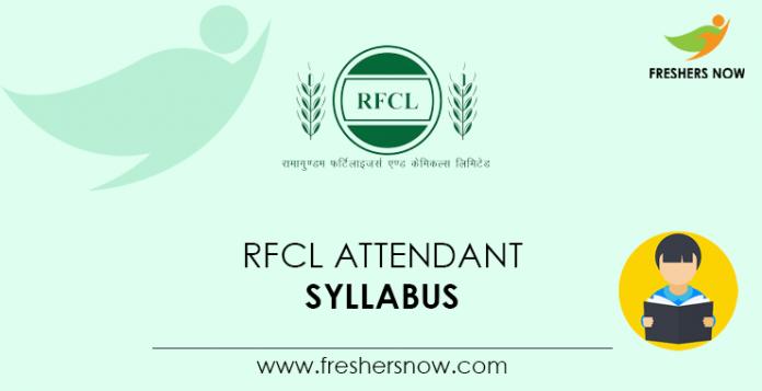 RFCL-Attendant-Syllabus