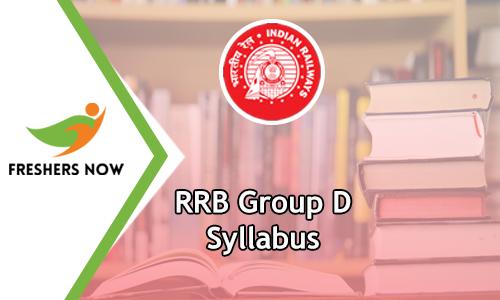 RRB Group D Syllabus