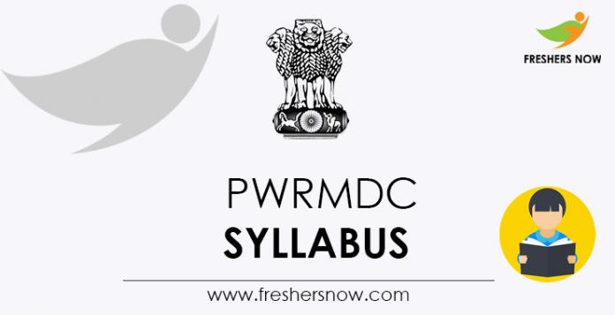 PWRMDC-Syllabus